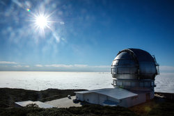 Canary Islands telescope
