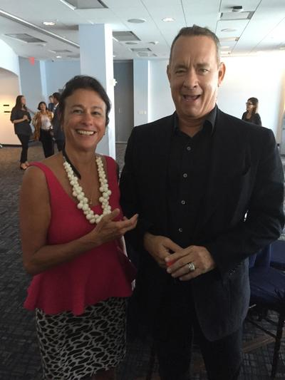 Nina Burleigh and Tom Hanks.jpg