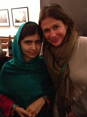 Malala and Nina Burleigh